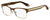 GIVENCHY Gv 0015 Rectangular Eyeglasses 0VDK-BROWN GOLD