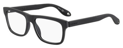 GIVENCHY Gv 0018 Rectangular Eyeglasses 0WS2-BLACK RUTHENIUM