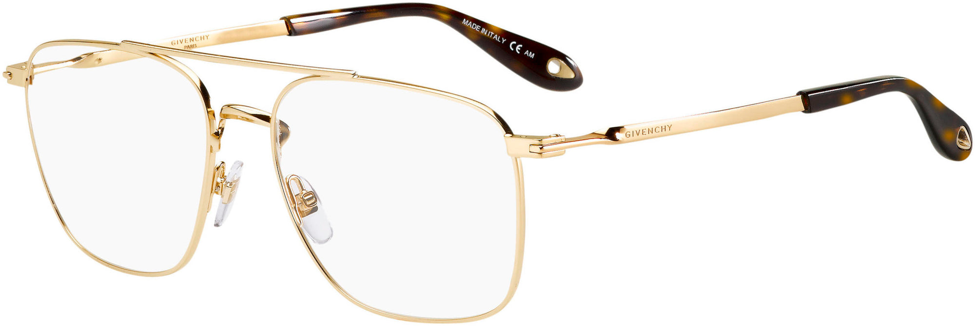 Givenchy GV 0030 Aviator Eyeglasses 0J5G-0J5G  Gold (00 Demo Lens)