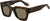Adensco GV 7061/S Rectangular Sunglasses 0086-0086  Dark Havana (70 Brown)