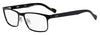 HUGO BOSS (HUB) Hg 0151 Rectangular Eyeglasses 0003-Matte Black