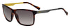 HUGO BOSS (HUB) Hg 0163/S Rectangular Sunglasses 0086-Dark Havana