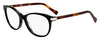 HUGO BOSS (HUB) Hg 0184 Cat Eye/Butterfly Eyeglasses 0WR7-Black Havana