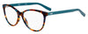 HUGO BOSS (HUB) Hg 0202 Cat Eye/Butterfly Eyeglasses 0XGW-Green Havana
