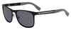 HUGO BOSS (HUB) Hg 0244/S Rectangular Sunglasses 0003-Matte Black (Back Order 2 weeks)