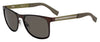 HUGO BOSS (HUB) Hg 0244/S Rectangular Sunglasses 0XMH-Matte Brown Gre (Back Order 2 weeks)