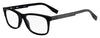 HUGO BOSS (HUB) Hg 0292 Rectangular Sunglasses 0003-Matte Black (Back Order 2 weeks)