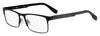 HUGO BOSS (HUB) Hg 0293 Square Eyeglasses 0003-Matte Black