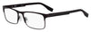 HUGO BOSS (HUB) Hg 0293 Square Eyeglasses 04IN-Matte Brown (Back Order 2 weeks)