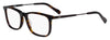 HUGO BOSS (HUB) Hg 0307 Rectangular Eyeglasses 0086-Dark Havana