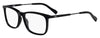 HUGO BOSS (HUB) Hg 0307 Rectangular Eyeglasses 0807-Black