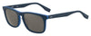 HUGO BOSS (HUB) Hg 0317/S Rectangular Sunglasses 0RCT-Matte Blue