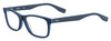 HUGO BOSS (HUB) Hg 0319 Rectangular Sunglasses 0RCT-Matte Blue