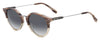 HUGO BOSS (HUB) Hg 0326/S Oval Modified Sunglasses 01ZX-Pink Horn