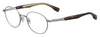 HUGO BOSS (HUB) Hg 0333 Oval Modified Eyeglasses 06LB-Ruthenium