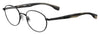 HUGO BOSS (HUB) Hg 0333 Oval Modified Eyeglasses 0807-Black (Back Order 2 weeks)