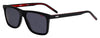 HUGO BOSS (HUB) Hg 1003/S Rectangular Sunglasses 0OIT-Black Redgd
