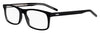 HUGO BOSS (HUB) Hg 1004 Rectangular Eyeglasses 07C5-Black Crystal