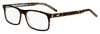 HUGO BOSS (HUB) Hg 1004 Rectangular Eyeglasses 0KRZ-Havana Crystal