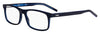 HUGO BOSS (HUB) Hg 1004 Rectangular Eyeglasses 0ZX9-Blue Azure