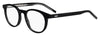 HUGO BOSS (HUB) Hg 1007 Oval Modified Eyeglasses 07C5-Black Crystal