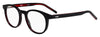 HUGO BOSS (HUB) Hg 1007 Oval Modified Eyeglasses 0OIT-Black Redgd
