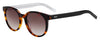 HUGO BOSS (HUB) Hg 1011/S Oval Modified Sunglasses 0086-Dark Havana