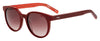 HUGO BOSS (HUB) Hg 1011/S Oval Modified Sunglasses 0C9A-Red