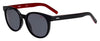 HUGO BOSS (HUB) Hg 1011/S Oval Modified Sunglasses 0OIT-Black Redgd
