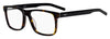 HUGO BOSS (HUB) Hg 1014 Rectangular Eyeglasses 0086-Dark Havana