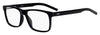 HUGO BOSS (HUB) Hg 1014 Rectangular Eyeglasses 0807-Black