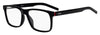 HUGO BOSS (HUB) Hg 1014 Rectangular Eyeglasses 0OIT-Black Redgd