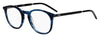 HUGO BOSS (HUB) Hg 1017 Tea Cup Eyeglasses 0AVS-Striped Blue