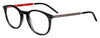 HUGO BOSS (HUB) Hg 1017 Tea Cup Eyeglasses 0PZH-Striped Gray