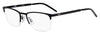 HUGO BOSS (HUB) Hg 1019 Rectangular Eyeglasses 0003-Matte Black