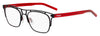 HUGO BOSS (HUB) Hg 1023 Square Sunglasses 0BLX-Bkrt Crystal Red