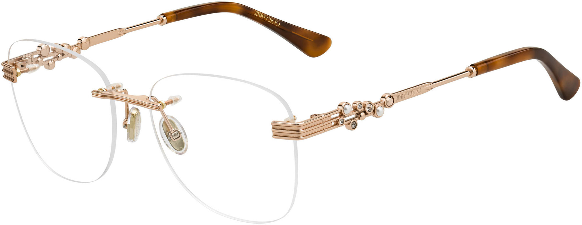 Jimmy Choo JC 214 Square Eyeglasses