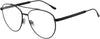 Jimmy Choo JC 216 Aviator Eyeglasses 0807-0807  Black (00 Demo Lens)