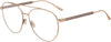 Jimmy Choo JC 216 Aviator Eyeglasses 0LKS-0LKS  Gold Blue (00 Demo Lens)