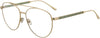 Jimmy Choo JC 216 Aviator Eyeglasses 0PEF-0PEF  Gold Green (00 Demo Lens)