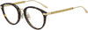 Jimmy Choo JC 220/F Tea Cup Eyeglasses 009Q-009Q  Brown (00 Demo Lens)