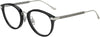 Jimmy Choo JC 220/F Tea Cup Eyeglasses 0807-0807  Black (00 Demo Lens)