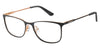 Juicy Couture Juicy 178 Rectangular Eyeglasses 02M2-02M2  Black Gold (00 Demo Lens)