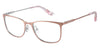Juicy Couture Juicy 178 Rectangular Eyeglasses 083I-083I  Gold Silver (00 Demo Lens)
