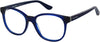 Juicy Couture Juicy 301 Rectangular Sunglasses 0PJP-0PJP  Blue (00 Demo Lens)