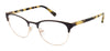 Juicy Couture Juicy 936 Rectangular Eyeglasses 0807-0807  Black (00 Demo Lens)