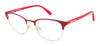 Juicy Couture Juicy 936 Rectangular Eyeglasses 0GMY-0GMY  Matte Fuchsia (00 Demo Lens)