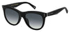 MJ Marc 118/S Tea Cup Sunglasses 0807-Black