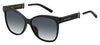MJ Marc 130/S Cat Eye/Butterfly Sunglasses 0807-Black