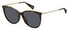 MJ Marc 257/F/S Cat Eye/Butterfly Sunglasses 0086-Dark Havana